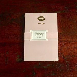 Foil Note Pad - Lips XOXO